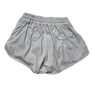 Lululemon Hotty Hot Short Shorts 2 Tall Gray Women